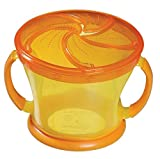 Munchkin Deluxe Snack Catcher,orange Color