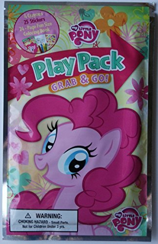 MY Little Pony Play Pack Grab and Go - Varied Ponies Design
