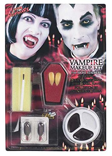 [Gothic Vampire Halloween Make-Up Kit] (Count Gothic Costumes)