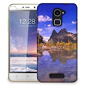 Snoogg Water Side Hills Designer Protective Phone Back Case Cover For Coolpad Note 3 Lite