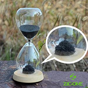 Awaglass Glass Sand Egg Hand-blown Timer Magnet Magnetic Hourglass Hour Home Decor Holiday... by Zicome
