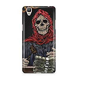 Motivatebox - Oppo F1 Back Cover - Undead Money Talks Polycarbonate 3D Hard case protective back cover. Premium Quality designer Printed 3D Matte finish hard case back cover.