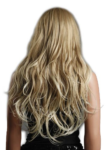 Sexy Style Natural Wave Wig (Model: Jf010344) (Blonde)