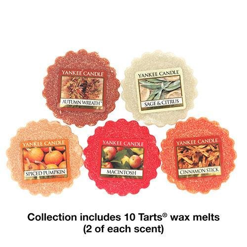Yankee Candle Fall Favorites Tarts Wax Melts Collection Gift Set (Yankee Candle Wax Tarts compare prices)