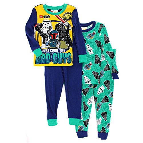 Lego-Star-Wars-Boys-2fer-4-pc-Cotton-Pajamas