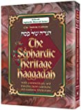 img - for The Sephardic Heritage Haggadah: Safdeye Edition - Large Size book / textbook / text book