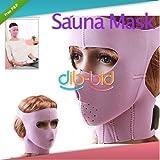 Vivans Shop® Anti-wrinkle Anti Sag Sauna Mask Wrap Cheek Slim up Face Uplift Beauty Facemask