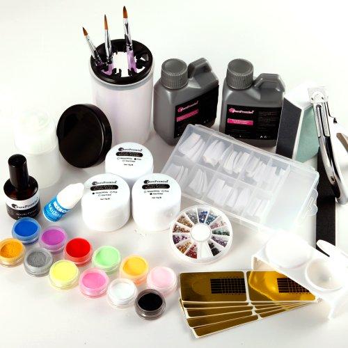 kit ongle resine poudre