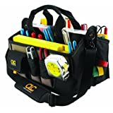 Custom LeatherCraft 1529 16-Pocket, 16-Inch Center Tray Tool Bag