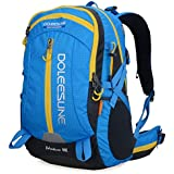 Doleesune 40l Hiking Pack Cycling Hiking Backpack Water-resistant Daypack 2387