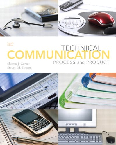Technical Communication: Process and Product (7th Edition)