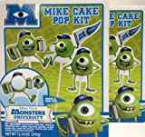 2 Disney/Pixar Monsters University Mike Cake Pop Kits (2 Pack)