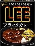 グリコ  リー LEE ブラックカレー 辛さX10倍 1ボール(10個入)