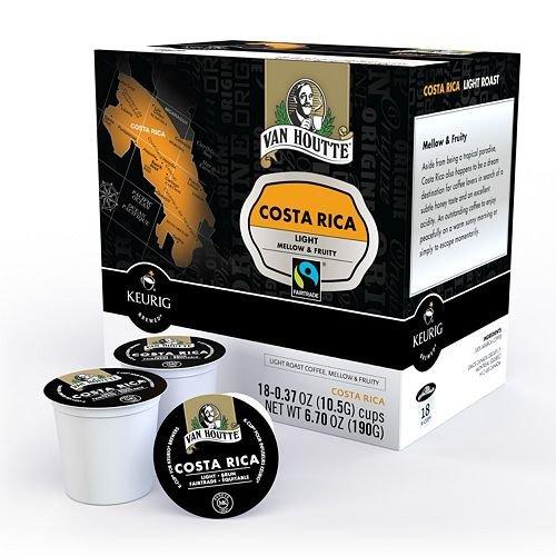 Van Houtte Costa Rica Coffee Keurig K-Cups, 18 Count
