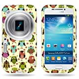 (US) CoverON® Slim Hard Case for Samsung Galaxy S 4 S IV Zoom Sm-C105A (Will Not Fit other S4 models) with Cover Removal Tool - (Fancy Owl)