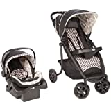 Safety 1st SleekRide Travel System Stroller, ABC Toile