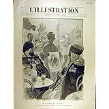 Impresión Antigua del Presidente 1903 de Loubet Argelia Alger Amiraute