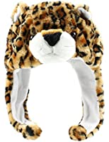 Q Collection Fuzzy Fur Animal Hat