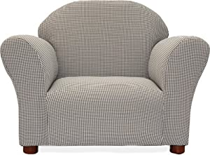 Fantasy Furniture Roundy Chair Gingham Brown from Fantasy Furniture