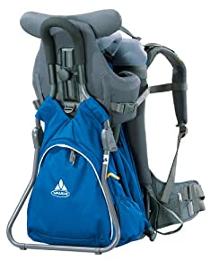 Amazon.com : Vaude Farfalle Comfort Child Carrier, Blue : Camping