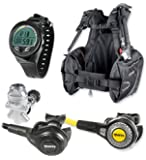 Mares Abyss 22 Navy II Regulator Scuba Gear Package