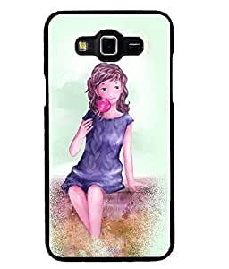 Fuson 2D Printed Girly Designer back case cover for SAMSUNG GALAXY GRAND MAX G720 - D4587