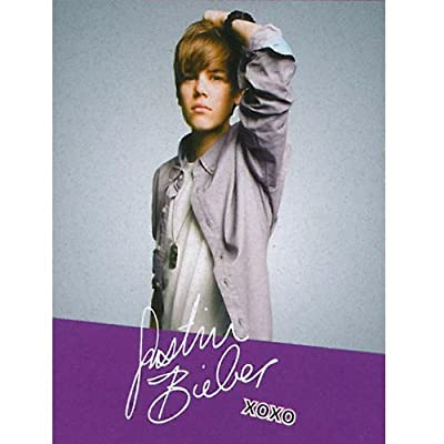 "Justin Bieber ""JB Signature"" XOXO Fleece Throw Blanket 50"" x 60"""
