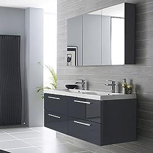 Ensemble de meubles de salle de bain nogara design - Amazon meuble salle de bain ...