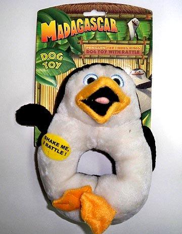 Madascar Penguin Dog Chew Toy, Lg