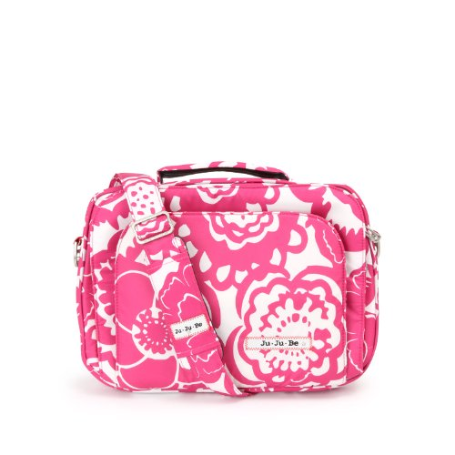 Ju-Ju-Be Micrabe  Tablet Carrier - Fuchsia Blossoms