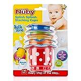 Splish Splash Set Of 5 Bath Time Stacking Cups By Nuby