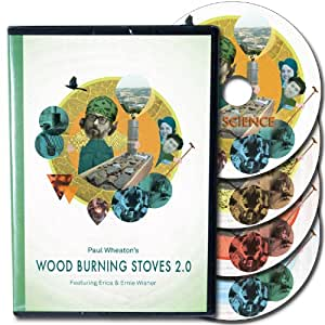 Wood Burning Stoves 2.0 - 4 DVD set : Secret of Rocket Mass Heater and Rocket Stove revealed by Paul Wheaton - Permaculture alternative for clean fire - DIY efficient wood stoves for preppers that will make you save on energy bills (2013)ENG