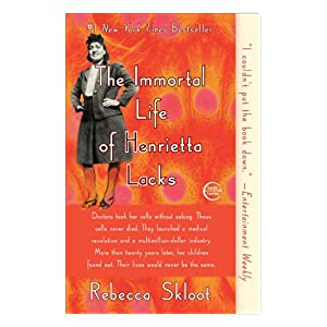 "Cover of the book ""The Immortal Life of Henrietta Lacks"""