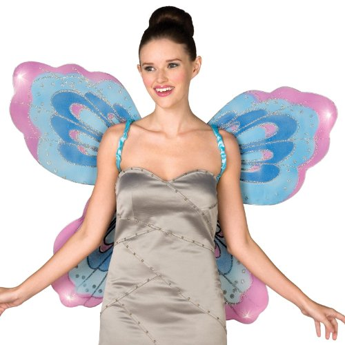 [Monarch Butterfly Wings Adult (As Shown;One Size)] (Blue Monarch Butterfly Costume)