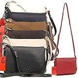 Gigi Small Flapover Organiser Bag - Leather - Othello 14578