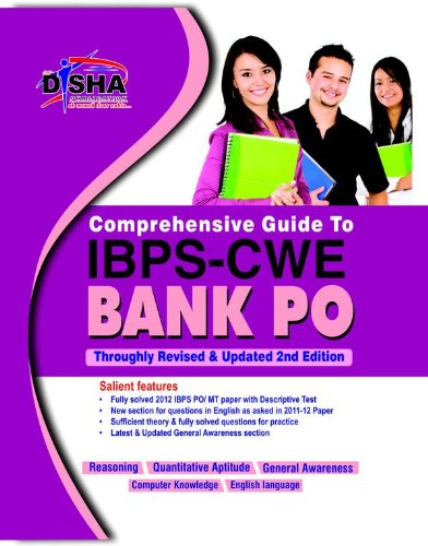 Comprehensive Guide to IBPS-CWE Bank PO Exam (Old Edition) (Old Edition)