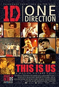 1D One Direction This Is Us : 11 x 17 inches (28cm x 44cm) : movie poster : 1D Poster