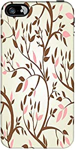 Snoogg Vector Seamless Pattern With Spring Branches Designer Case Cover For A...