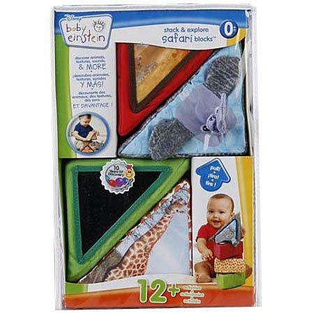 Baby Einstein Animal Discovery Block Set - Neutral