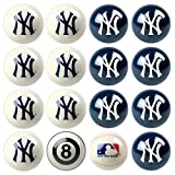 MLB New York Yankees Home Versus Away Team Billiard 8-Ball Set
