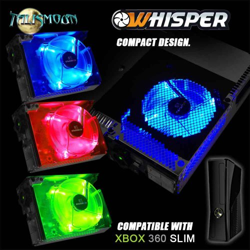 WHISPER SLIM - Replacement Cooling Fan for your XBox 360 Slim (Xbox Fan Replacement compare prices)
