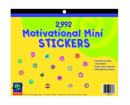 Eureka Jumbo Mini Motivational Sticker Book 2992 Count