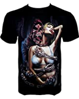 Rock Chang T-Shirt Love Of Death (Glow In The Dark) GR 360