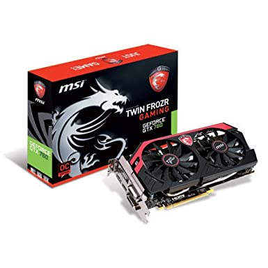 MSI Nvidia 4GB Gaming Graphics Card