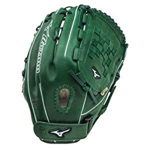 Mizuno MVP Prime SE GMVP1300PSEF1 Pitcher Outfielder Glove Forest/Silver, Right Handed Throw