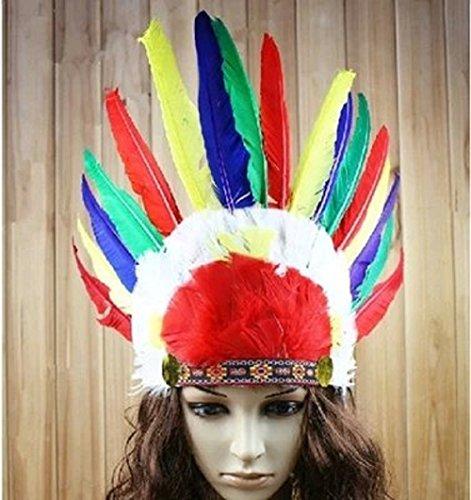 Шляпа индейца своими руками из бумаги 93