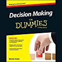 Decision Making for Dummies Audiobook by Dawna Jones Narrated by Cassandra Campbell