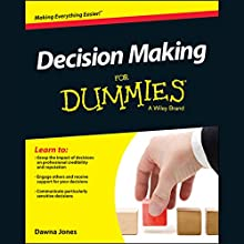 Decision Making for Dummies (       UNABRIDGED) by Dawna Jones Narrated by Cassandra Campbell