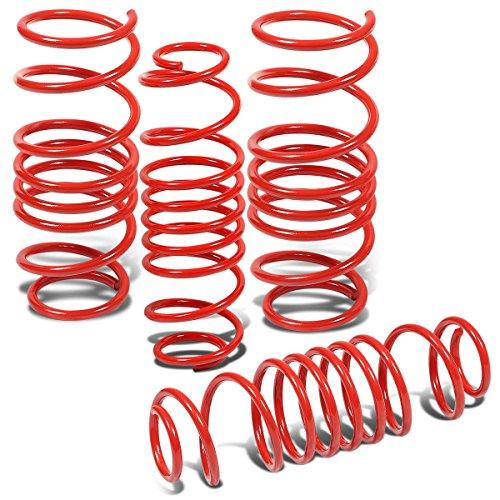 Mazda 2 Demio Suspension Lowering Spring (Red) - DE (Suspension De Autos compare prices)