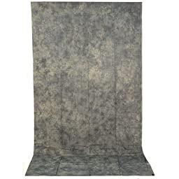 Impact Crushed Muslin Background (10 x 24\', Gray Mist)
